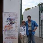 Elias Canas e Cristina Bracaloni